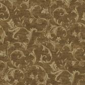 AL13767 Vlad Olive Acanthus Vine Wallpaper