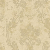 AL13773 Irena Gold Delicate Damask Wallpaper