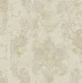 AL13776 Irena Grey Delicate Damask Wallpaper