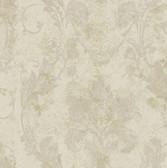 AL13776 Irena Grey Delicate Damask Wallpaper
