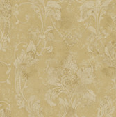AL13777 Irena Bronze Delicate Damask Wallpaper
