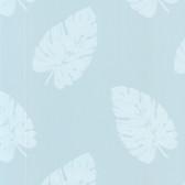 Charlie Ocean Banana Leaf Cerulean Wallpaper 2532-20415