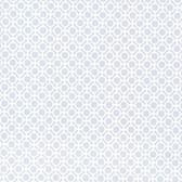 Beatrix Modern Geometric Azure Wallpaper 2532-20421