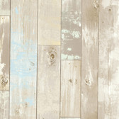 Dean Distressed Wood Panel Hazelwood Wallpaper 2532-20440