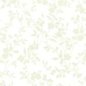 Layla Floral Trail Silhouette Parchment Wallpaper 2532-20463