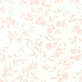 Layla Floral Trail Silhouette Carnation Wallpaper 2532-20464