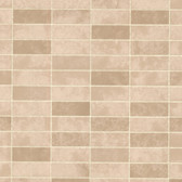 Hunter Rectangle Tile Sepia Wallpaper 2532-20476