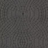 Hanley Mosaic Tile Iron Wallpaper 2532-20477
