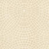 Hanley Mosaic Tile Linen Wallpaper 2532-20478
