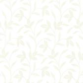 Cynthia Tonal Leaf Trail Porcelain Wallpaper 2532-20480