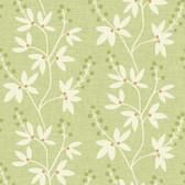 Linnea Botanical Trail Pear Wallpaper 2532-20613