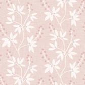 Linnea Botanical Trail Flamingo Wallpaper 2532-20615