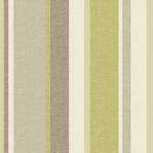 Keene Linen Stripe Olive Wallpaper 2532-20631