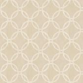 Eaton Geometric Linen Wallpaper 2532-20641
