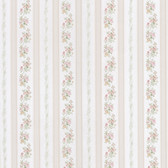 Merle Floral Stripe Blush-Heather Wallpaper 2532-56029