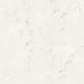 Nessa Satin Leaf Motif Lilac Wallpaper 2532-63832