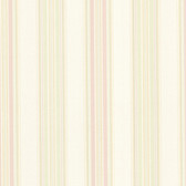 302-66810 La Belle Maison Manor Stripe Pink-Cream Wallpaper