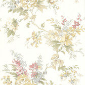 302-66838 La Belle Maison Lush Floral Trail Honey Wallpaper