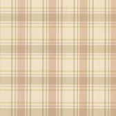 302-66841 La Belle Maison Grand Plaid Sepia Wallpaper