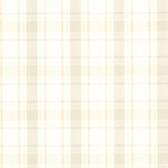 302-66844 La Belle Maison Grand Plaid Beige Wallpaper