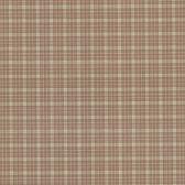 302-66868 La Belle Maison Petite Plaid Brown-Red Wallpaper