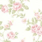 302-66875 La Belle Maison Bloom Floral Trail Pink Wallpaper