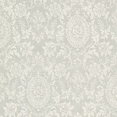 302-66886 Ornament Damask Motif Fossil Wallpaper