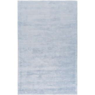 Graphite Area Rug - Sky Blue