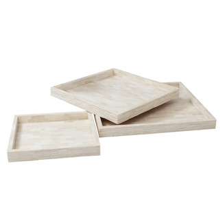Chiseled Bone Tray