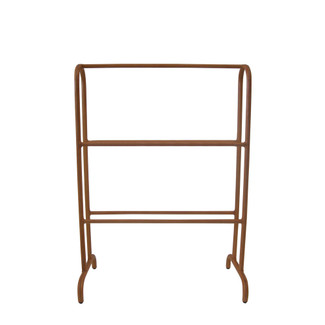 Large Leather Towel Rack