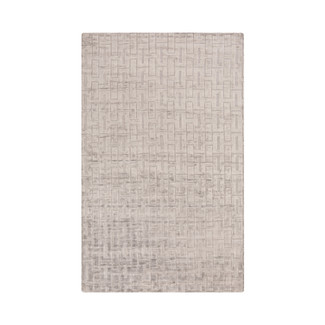 HAND LOOMED LUSTROUS LAVENDER AREA RUG
