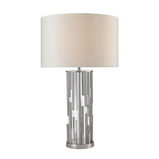 Chrome Rod Table Lamp