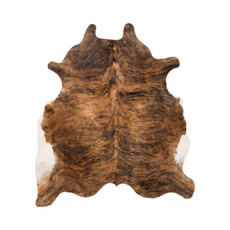 Black & Brown Cowhide