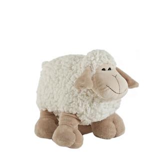 """Cute 10"""" Ivory Plush Sheep Stuffed Animal"""
