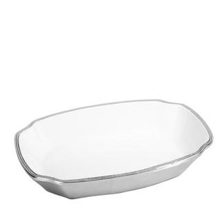 Aluminum & Enamel Oblong Platter- Large