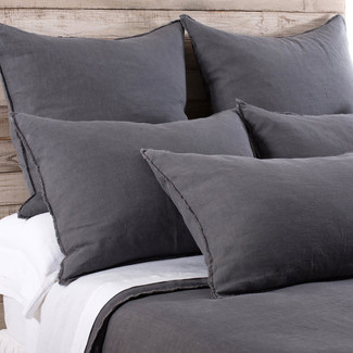 Blair Frayed Linen Duvet