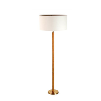 Andover Leather Floor Lamp