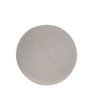 "Cabana 15"" Round Linen Placemats- Set of 4"