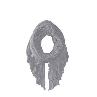 Classic Ash Frayed Scarf