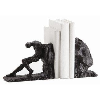 Jacque Bookends Set