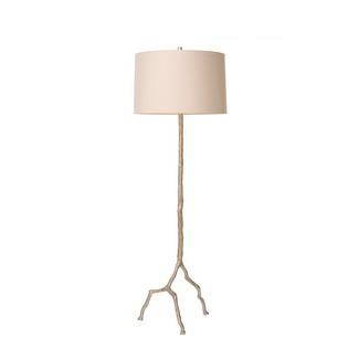 Silver Tree Branch Floor Lamp