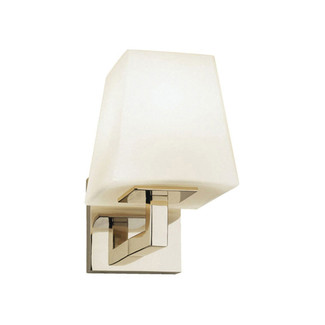 Doughnut Polished Nickel Wall Sconce