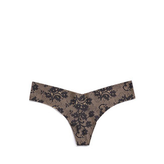 Thong - Lace Noir