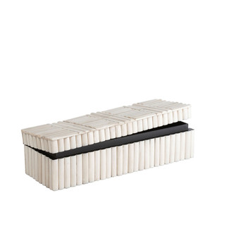 Rectangular Bone Inlayed Box
