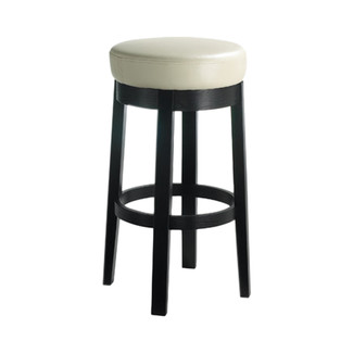 Cedric Leather Swivel Barstool