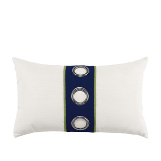 Navy Cruise Vertical Lumbar Accent Pillow
