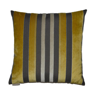 Yellow Charcoal Pillow 24 x 24