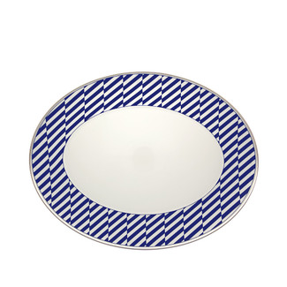 Cobalt Blue Large Oval Platter