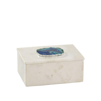 Antilles Rectangular Marble Box