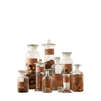 Botany Apothecary Jars - Set of 9